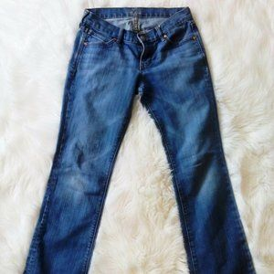 Old Navy The Diva Boot Cut Distressed Wash Jeans